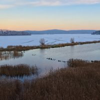 Вечер на озере :: vladimir