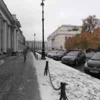 В центре мегаполиса :: Yulianna Yanvarskaya