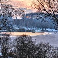 Осенняя рыбалка на закате :: Андрей Куприянов
