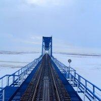 Ж/Д мост через Юрибей :: Tata Wolf