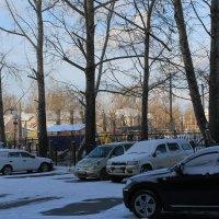 Вот и снег... :: Олег Афанасьевич Сергеев