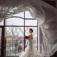ветер и Диана.... :: Батик Табуев