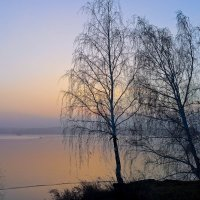 Туманный закат :: Светлана Игнатьева