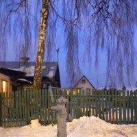 Зимний вечер. :: Oleg4618 Шутченко