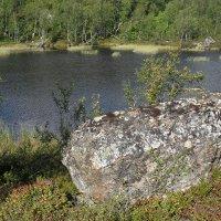 Озеро с камнем :: Святец Вячеслав