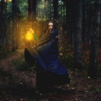 Лесная колдунья :: Юлия Семенихина
