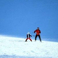 Учимся стоять на лыжах. :: Юлия