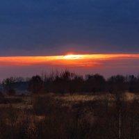 Ноябрьский закат. 07. :: Анатолий Клепешнёв