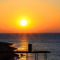 Самое синее Чёрное море. :: Ардалион Иволгин