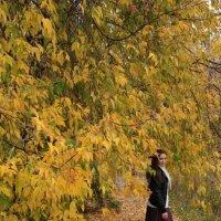 Осень, красивая женщина, глаза, как озера лесные!, :: Valentina Lujbimova [lotos 5]