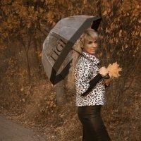 милая девушка с зонтом :: Ksenia Sun