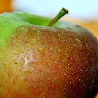 сочное яблоко :: Tatyana Belova