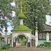 Церковь Иоанна Богослова в Ипатьевской слободе. :: Ирина