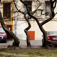 Улица РЕПИНА /дворик/ :: Виктор Никитенко