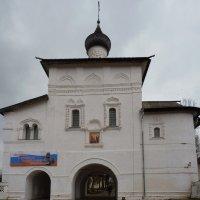 Надвратная  Благовещенская церковь  в Спасо-Евфимьевом монастыре :: Galina Leskova