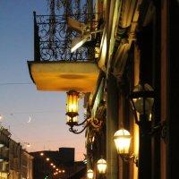 Волшебство ночного города. :: Инна Малявина