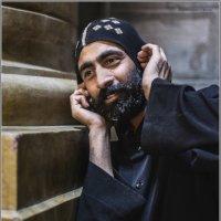 Копт монах или звонок к Богу«Израиль, всё о религии...» :: Shmual Hava Retro