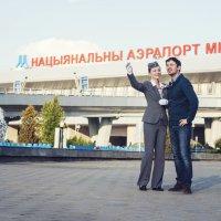 Небо, самолеты и Ян с Таней :: Александр Горбачев