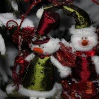 Снеговики :: Таня Фиалка