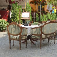 Кафе на улице :: Яна Чепик