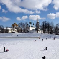 Церковь Николы рубленый город :: Tata Wolf