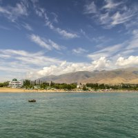 Вид на горы и облака :: Дмитрий Потапкин
