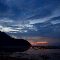 Закат на острове Бабочка. :: Юлия