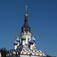 """Церковь-часовня в честь иконы Божией Матери """"Утоли моя печали"""" :: Владимир Нефедов"""