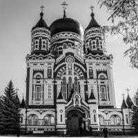 Собор великомученика Пантелеймона Свято-Пантелеймоновского монастыря :: Андрей Нибылица