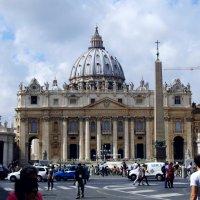 Площадь и Собор Св.Петра, египетский обелиск. :: Валерьян