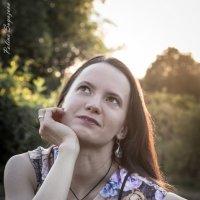 Вероника, закат, ботсад :: Полина Суязова
