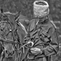 Коня снарядил, пора и за себя взяться... :: Alexandr Zykov