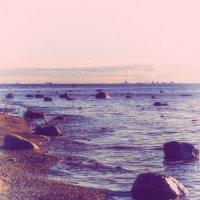 Береговая линия залива (nostalgic) :: Valerii Ivanov