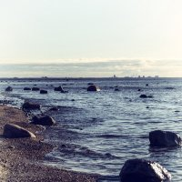 Береговая линия залива( vintage) :: Valerii Ivanov
