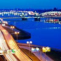 Большеохтинский мост :: Lika Shakhmatova