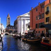 Венеция. Мы заблудились в Красоте... К друзьям мы явно не успеем... :: Леонид Нестерюк