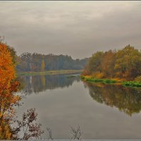 осень на Москве реке :: Дмитрий Анцыферов