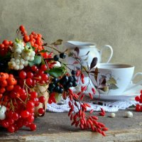 Чай с привкусом осени... :: Наталия Фомичёва