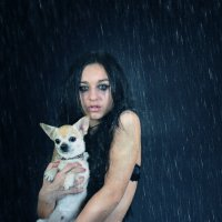 Гранж под дождем :: Дарина Сваровски