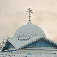 Молочное.Церковь :: Валерий Талашов