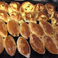 Пирожки и ватрушки. :: Люда Валяшки