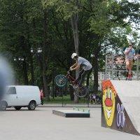 Скейт парк. :: Дмитрий Иншин