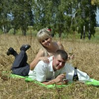 Свадьба в полях :: Дмитрий Конев