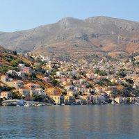 Остров Сими - греческая Венеция :: Борис Шубин