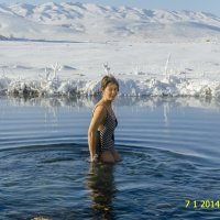 Рождественское купание :: Дмитрий Потапкин