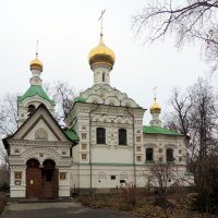 Церковь Троицы Живоначальной при больнице св. Владимира. :: Александр Качалин