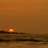 Закат на Тихом океане :: Igor Khmelev