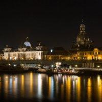 Дрезден, вид с королевского моста :: Виталий Латышонок