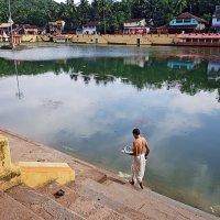 Священное озеро с водой из Ганга :: Татьяна Губина