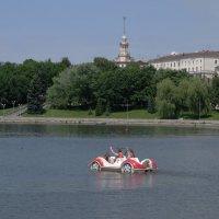 Водный автомобиль! :: Ирина Олехнович